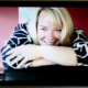 Webcam photo of Tricia Fox of Volpa who received Chartered Practitioner Status.